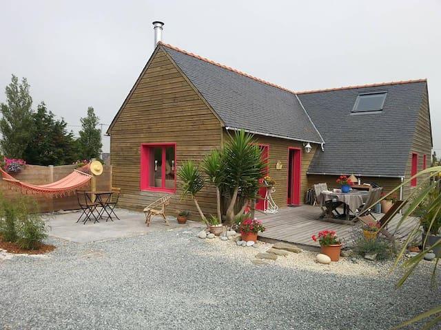 Maison cosy, calme, et reposante proche de la mer - Cléder - House