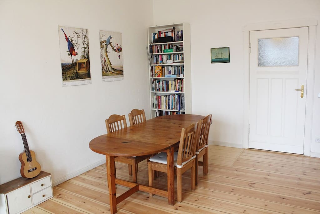 dining table for 8 persons (4 more chairs available)