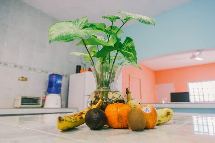 La Casona del Caribe: Private double room