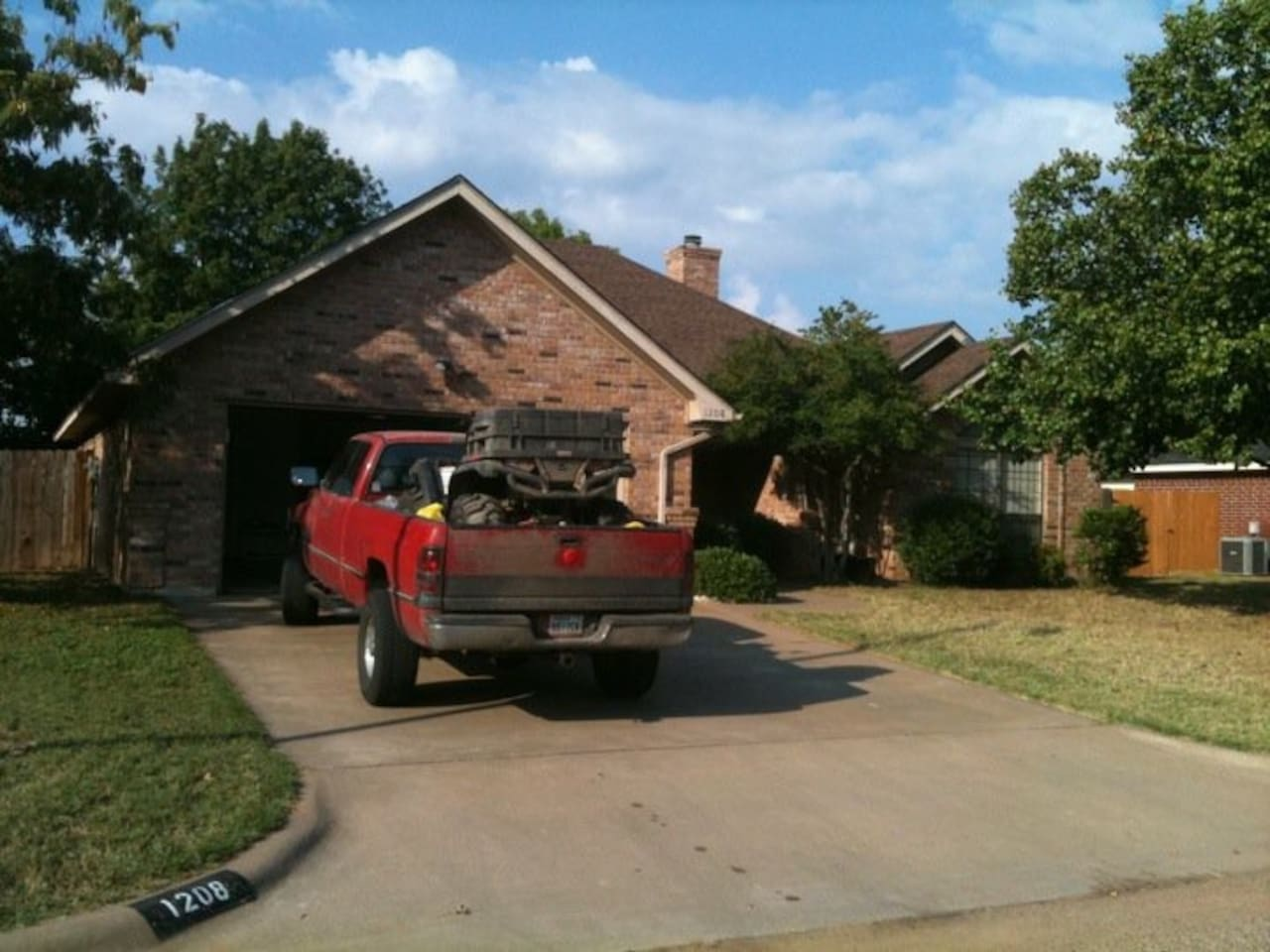 Exterior of home. (Disregard the dirty truck.)