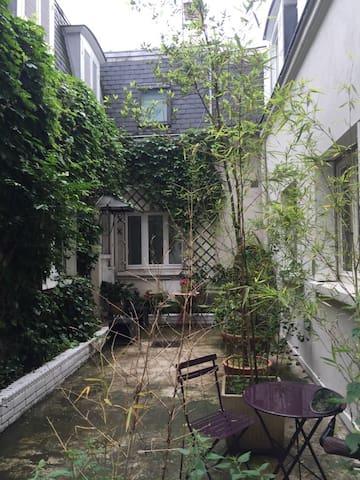 Chambres individuelles - Maison au coeur du 7e - Paris - Ev