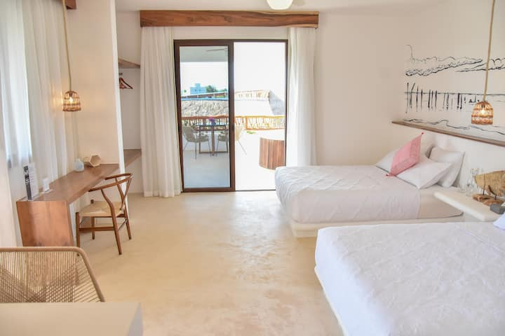 MY MASTER SUITE AT CASA HX HOLBOX