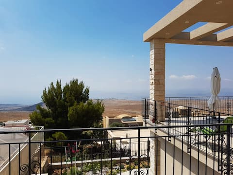 Landscape and tranquility in the peak of Galilee