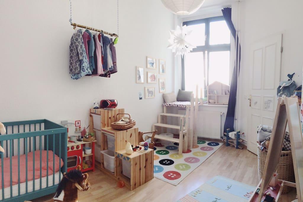 Kinderzimmer, andere Ansicht