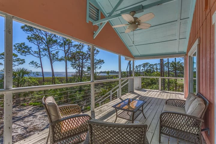 Bay Front, Private Dock, Kayak Walk-In, Cape San Blas ~ Summerbay