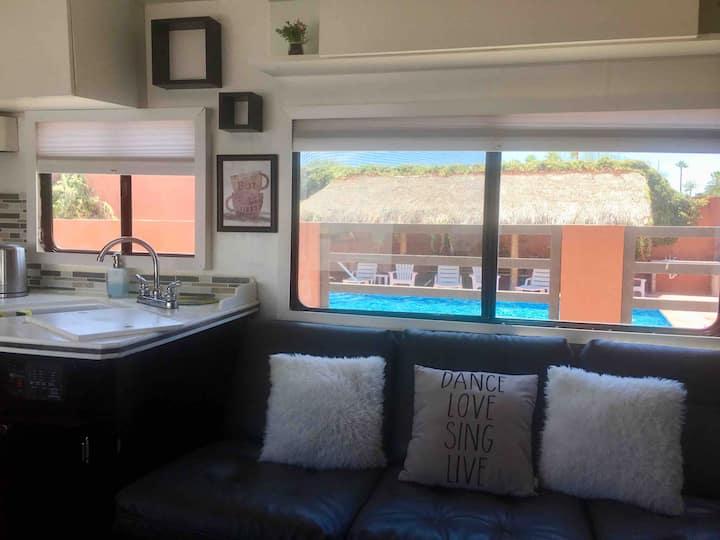 Rv rental at Sunset. Near Sandy Beach with pool!!
