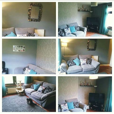 Single or double bed in a cosy flat - Edinburgh - Appartement