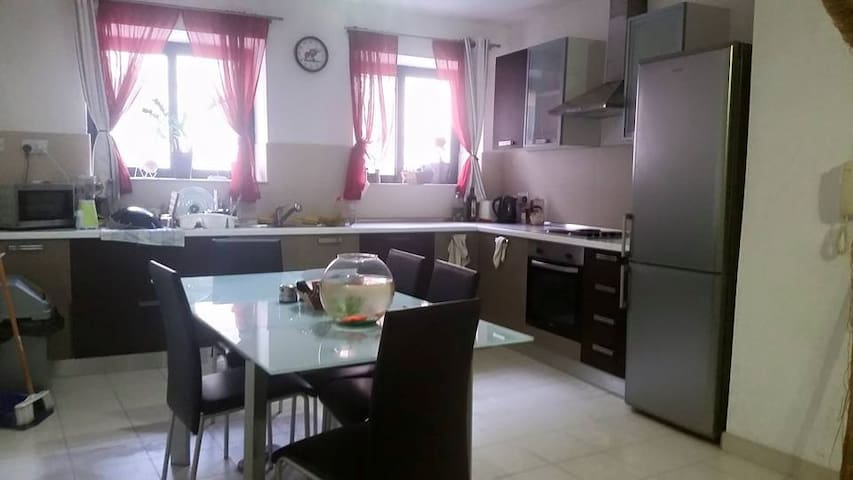 Private double bedroom in St. Julians ! - Floriana - Apartemen