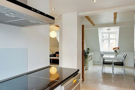 Nice and bright penthouse in Aarhus C - 阿爾路斯