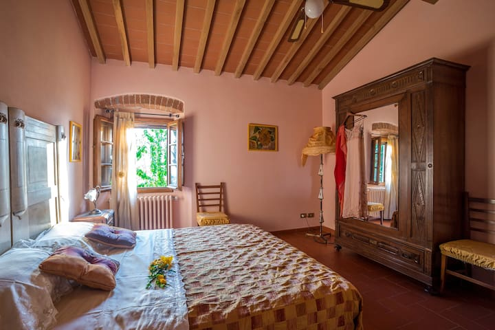 Cozy for 4 Farmhouse Tuscany Hills nearby Florence - Reggello - Wohnung