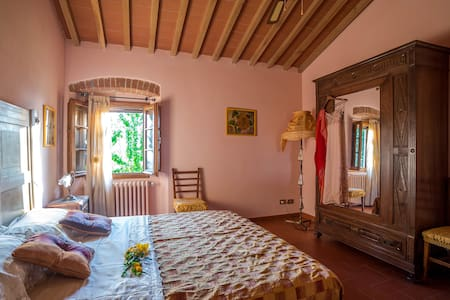 GIRASOLE: cozy apartment in old stone farmhouse - Reggello - Квартира