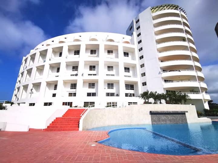 Frente al Mar, Lindo Depart. Duplex en Casablanca