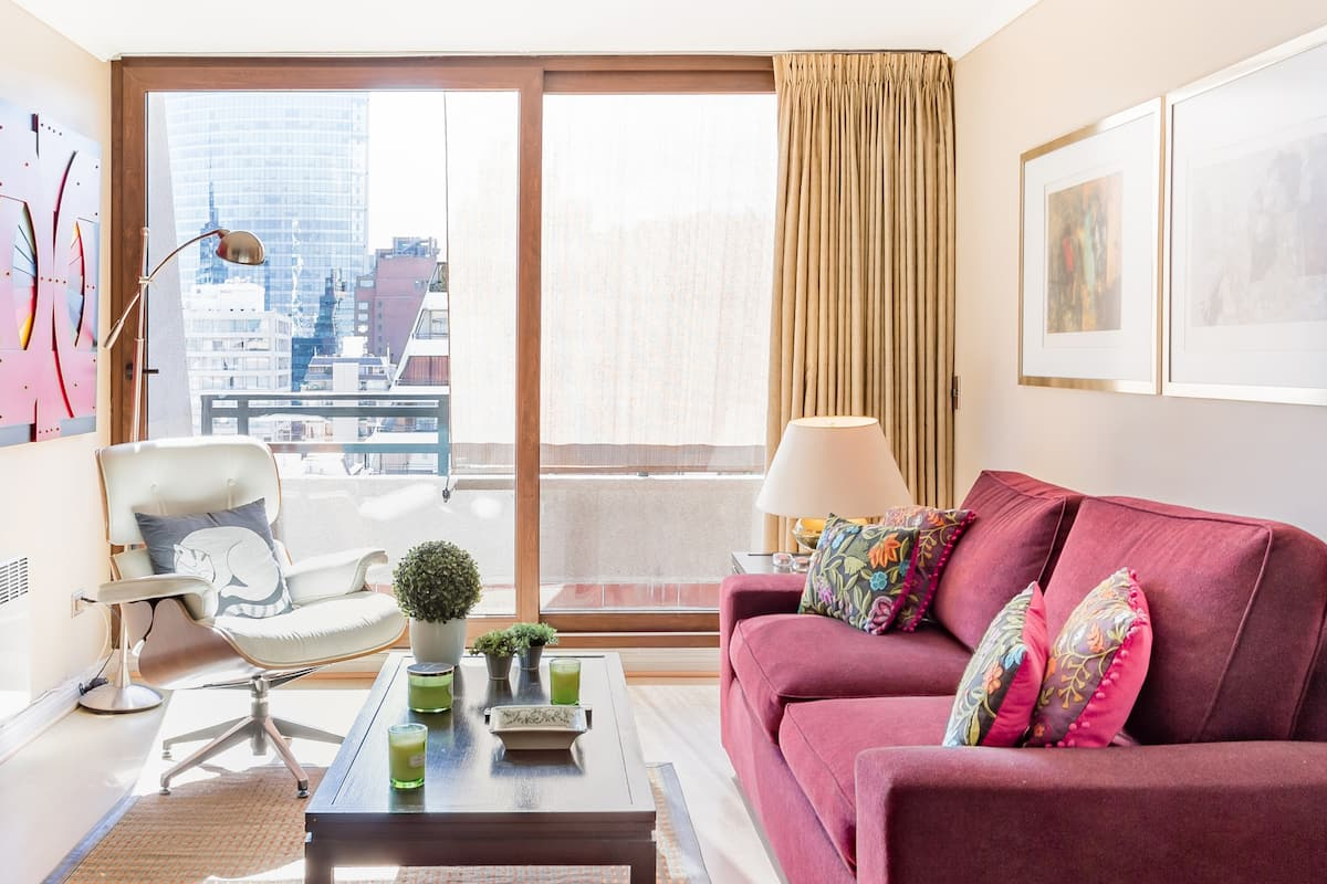 City View High Rise Condo with Balcony
