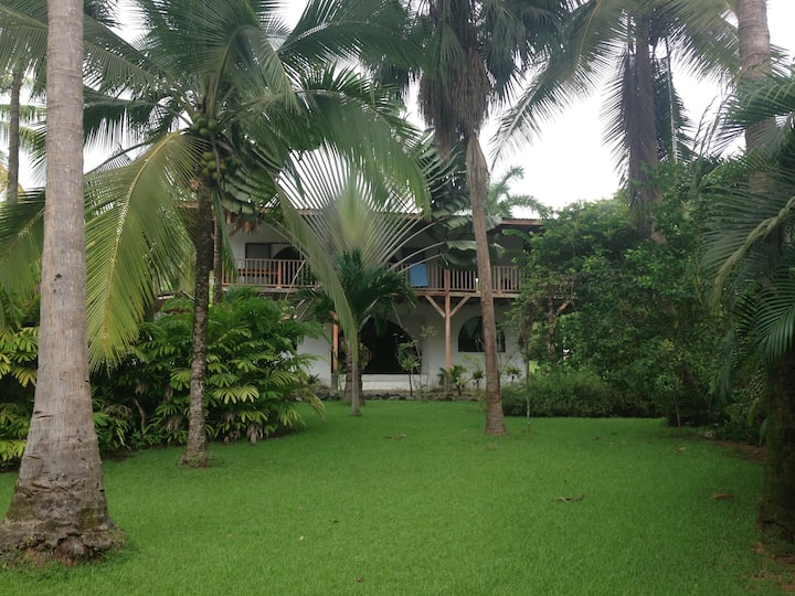 Beach front private four bedroom house