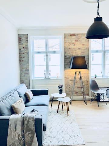 Scandinavian living in Copenhagen Ø