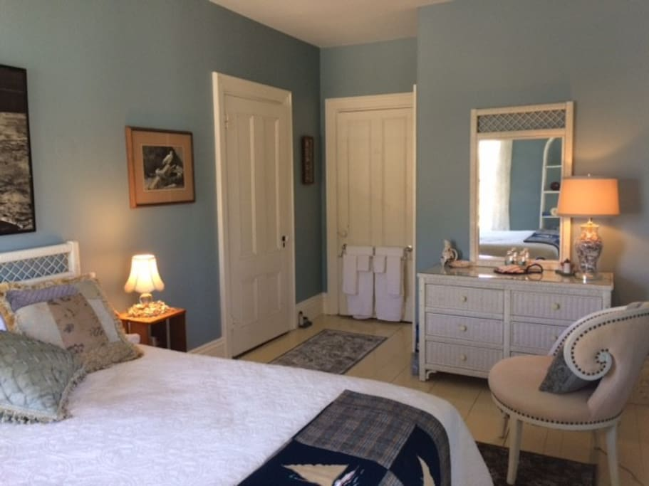 Feel the call of Cape Cod in this restful room.