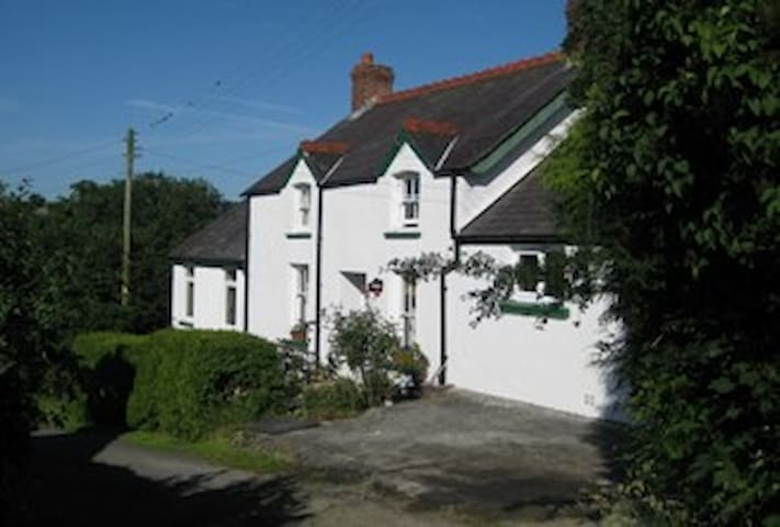 VegetarianPenrhiw - Double bed in cosy cottage