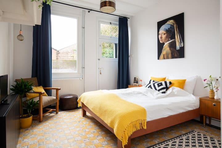 Old Dutch appartement, slapen in een oud pakhuis