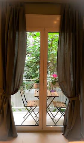 Elegant studio near Kallimarmaro - Athina - Apartament