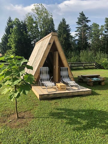 Natura Camp Gea - Wooden Camping Hut 1