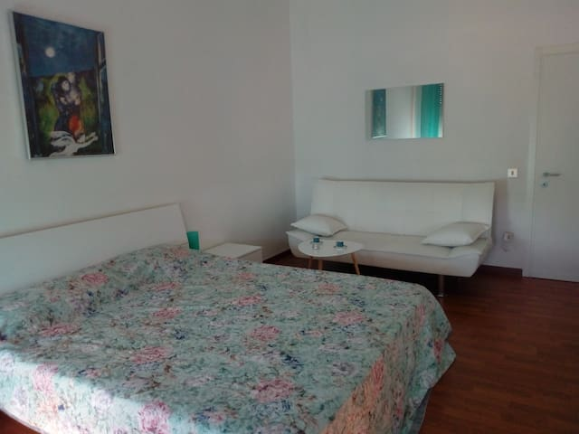 Big double room next to Treviso train station