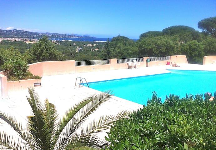 Esprit maisonnette dans le Golfe de St Tropez