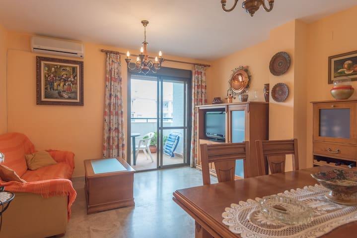 Piso confortable en el Portil + Garaje - El Portil - Apartemen