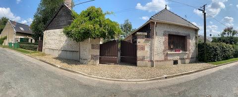 Annexe de maison cosy dans un village au calme