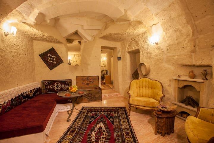 Ortahisar Cawe Hotel&Superior Suit Room+Breakfast - Ortahisar - Jaskinia