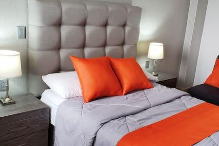 Magnifica habitación #3 Cerca CAS, CONSULADO. EXPO