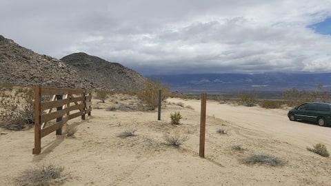 DESERT CAMP SITE - LUCERNE VALLEY