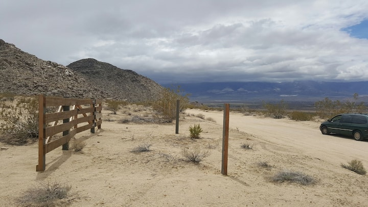 DESERT CAMP SITE - LUCERNE VALLEY