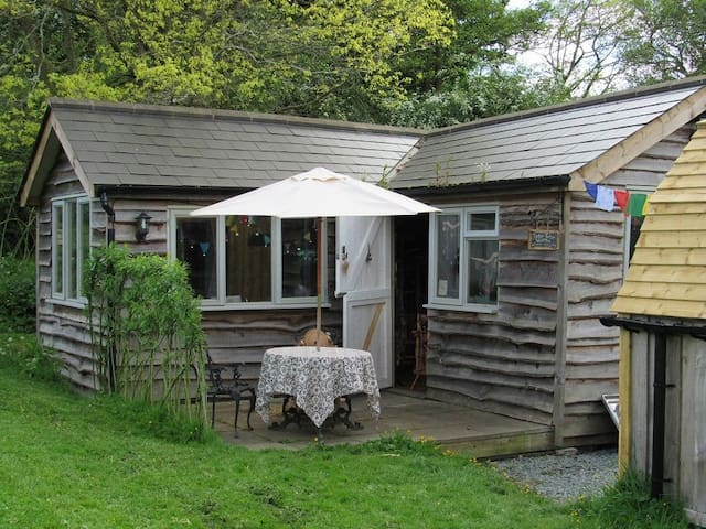 Beautiful Large Cabin In Welsh Hills - Sleeps 4