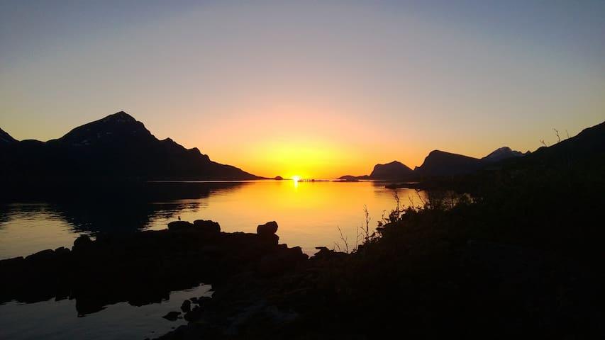 Hytte ved havet - Vestvågøy - Cabin