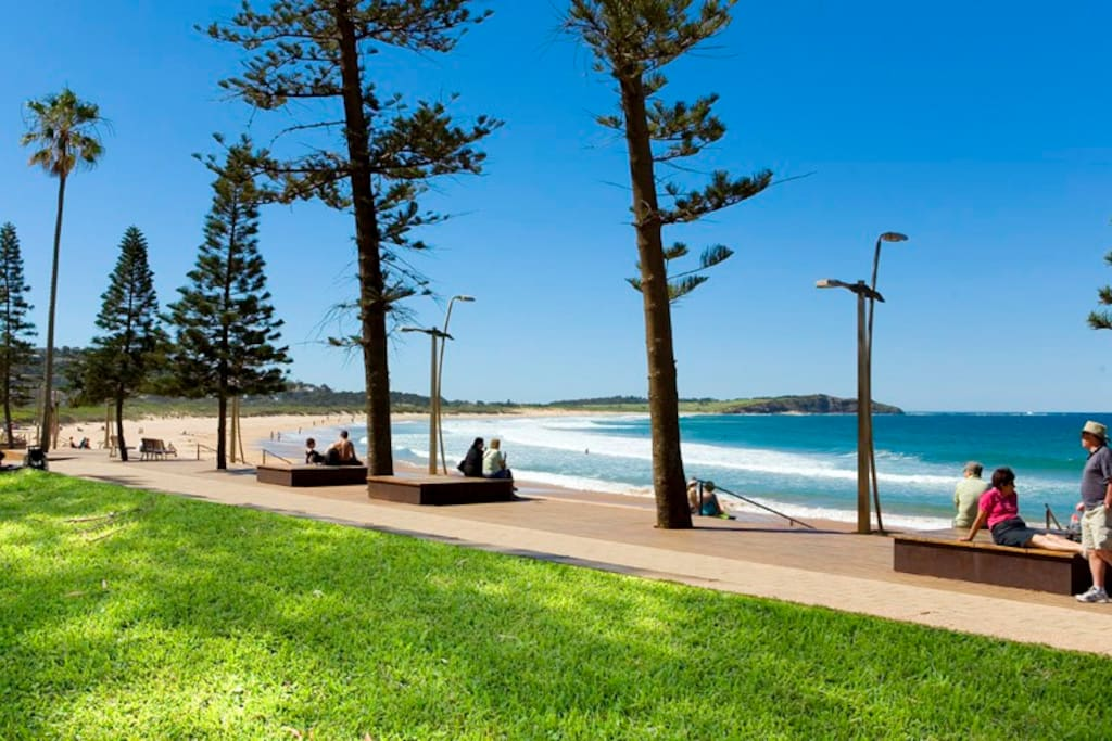 Heavenly Dee Why beach just seconds from your front door!