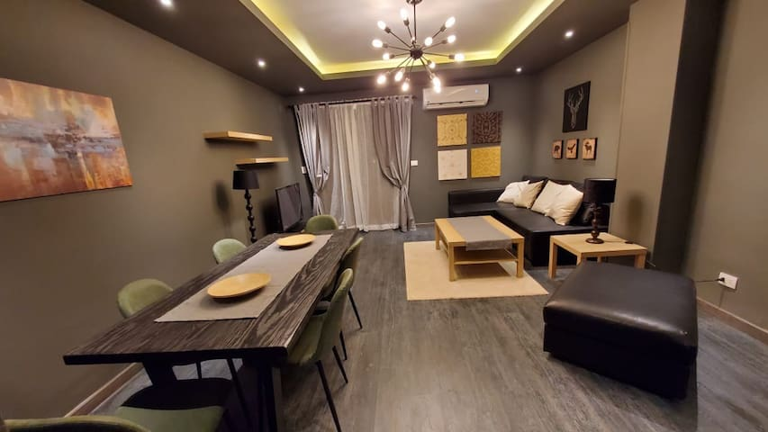Super ultra furnished apartment-First Residence