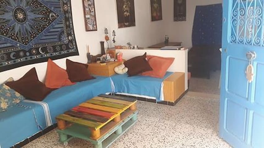 La Marsa, a room in a traditional house - Carthage - Casa