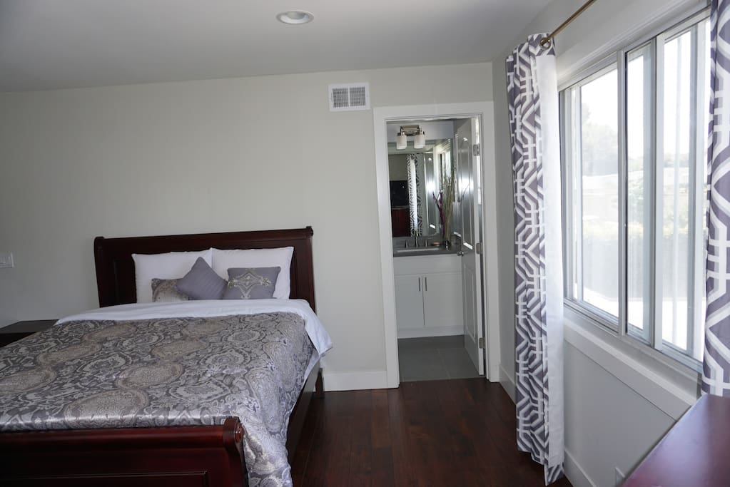 The Retreat Master Room with private bathroom.