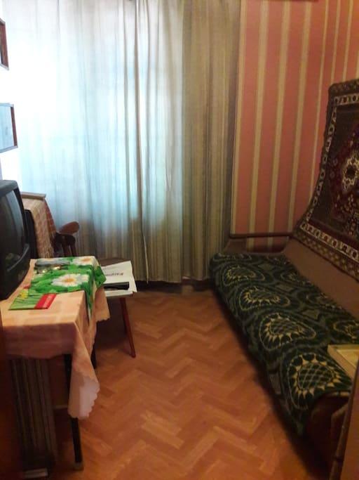 Вторая комната, 2 спальных места