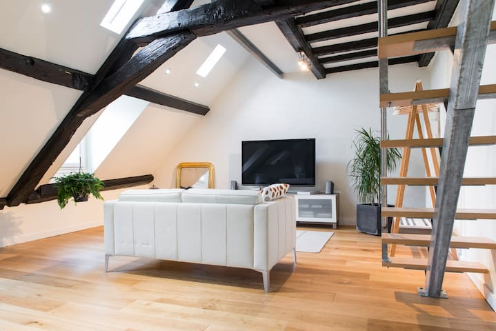 Appartement cocooning face au Château des Ducs - Nantes - Wohnung