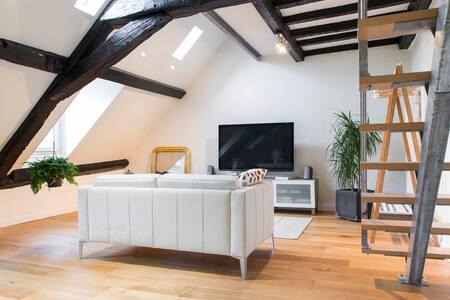 Appartement cocooning face au Château des Ducs - Nantes