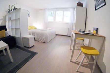 Cozy studio near main bus station w/ free parking - Apartmen