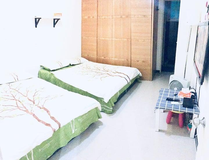 375雙家我  一楼套房  離捷運站走路4分鐘 舒適2人房 台北 永和 永安捷运