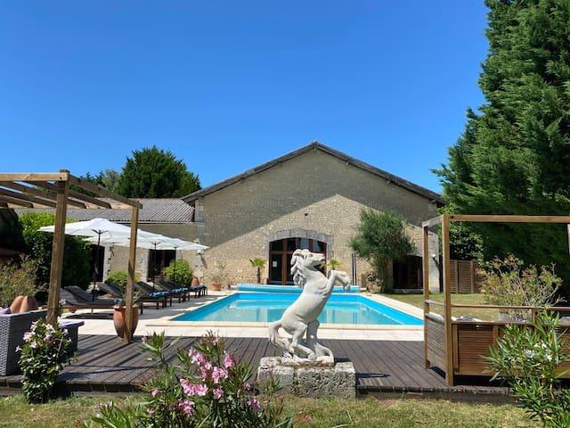 Historic Luxury Estate with Pool and Yoga Studio