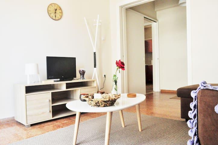 Bright city center apartment