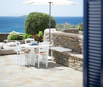 Lovely family house with majestic Aegean view