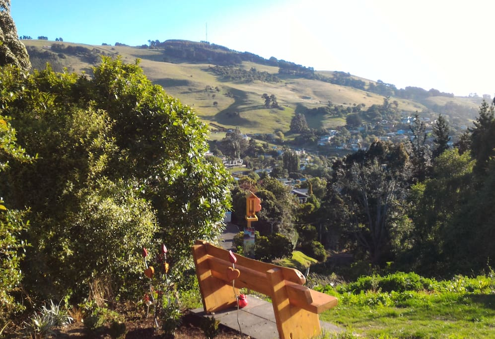 Our latest addition... great spot to listen to and observe local birds (e.g. tui) which lives nearby.