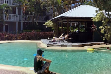 Tropical  Hideaway at South Pacific - Noosaville