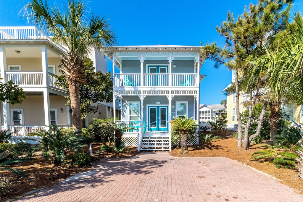Sugar Sand Beach Escape is a Completely Renovated 30-A Beach House!