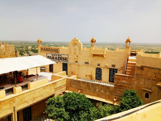 jaisalmer paradise home with nice view